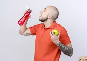 رجيم الماء والتفاح لخسارة الوزن