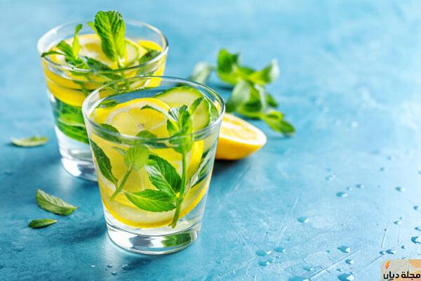 وصفات لتطبيق رجيم الليمون والماء